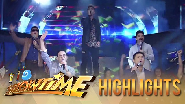 Teddy Corpuz  and the TNT hurados perform for Father's Day | It's Showtime