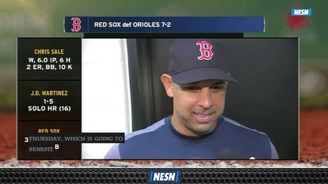 Alex Cora Thinks Red Sox 'Are Still Getting Better' As Hot Streak Continues Vs. Orioles