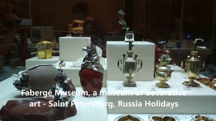 Fabergé Museum, a museum of decorative art - Saint Petersburg, Russia Holidays