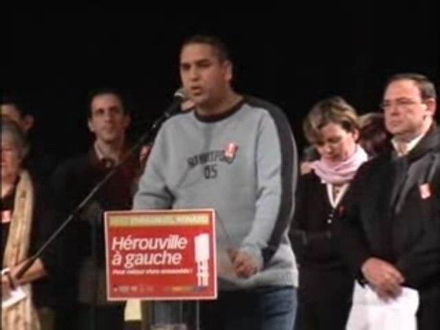 HAG voeux 2008 intervention Karim (Hérouville pour tous)