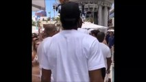 Kawhi Leonard and Raptors arrive to a Las Vegas pool party 6-15-19
