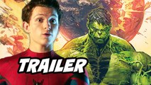 Spider-Man Far From Home Trailer - Avengers Endgame Deleted Scenes Explained by Tom Holland