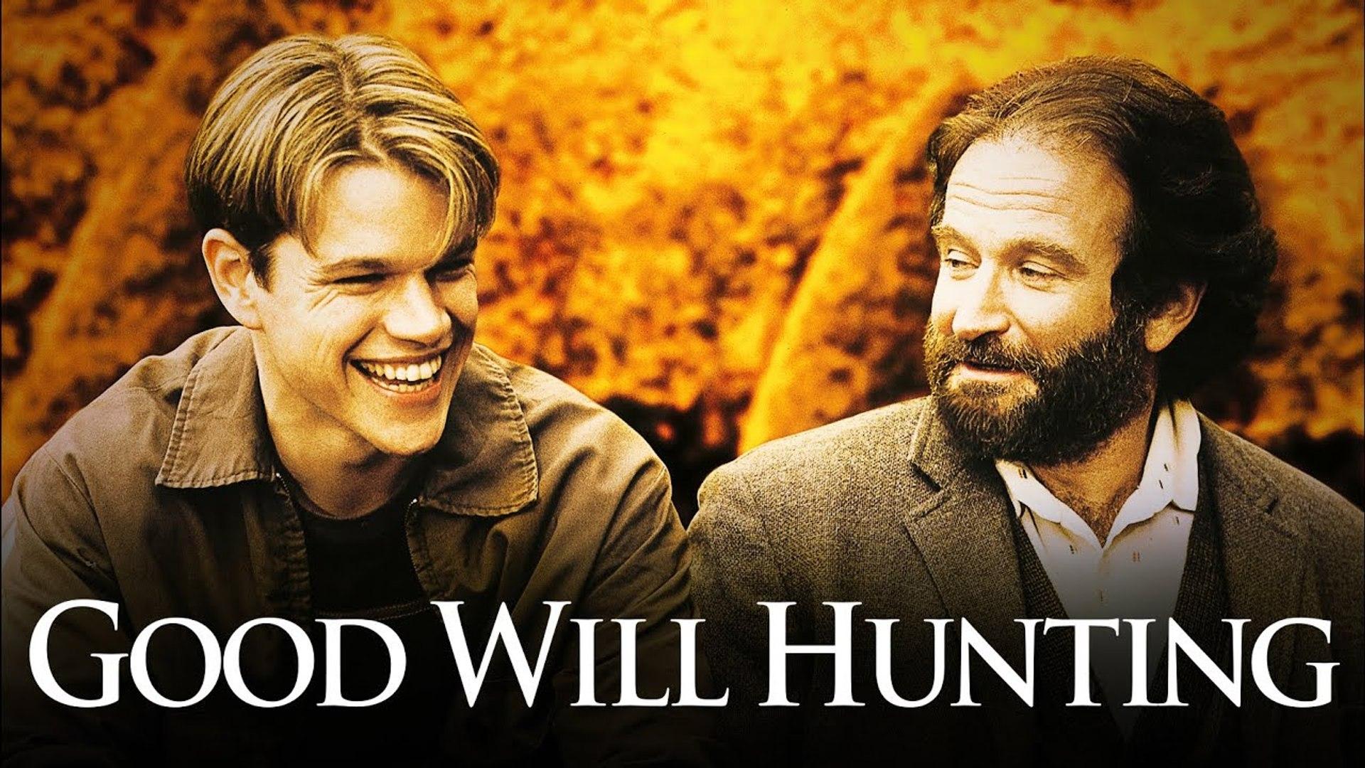 Good Will Hunting Movie 1997 Matt Damon Robin Williams