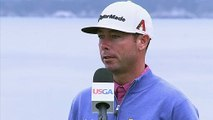 Gary Woodland, Justin Rose and other golfers react after Round 3 of the U.S. Open