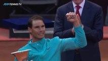 Best Rafael Nadal Shots And Winning Moment   Rome 2019