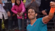 Championship Point! The Moment Rafael Nadal Defeated Novak Djokovic for His Ninth Rome Title