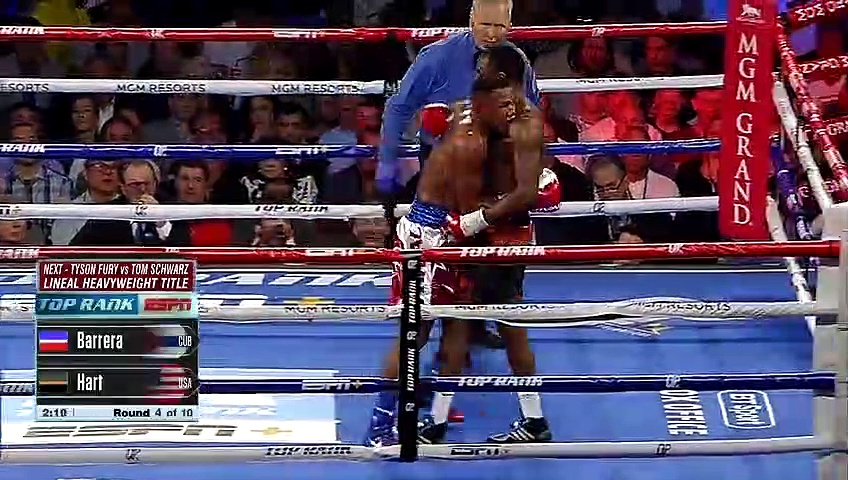 Sullivan Barrera vs Jesse Hart (15-06-2019) Full Fight