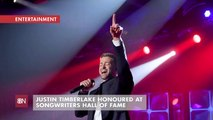 Justin Timberlake Is Now In The Songwriters Hall Of Fame