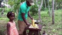 Village de la Nourriture  Délicieux Dessert Simple, préparé dans mon Village par mon Papa