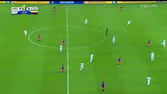 Argentina 0-[1] Colombia - Martinez goal