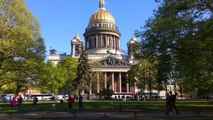 Russian Orthodox church (St Isaac Cathedral), St Petersburg - Russia Holidays