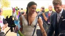 El chascarrillo de Sergio Ramos en su boda con Pilar Rubio
