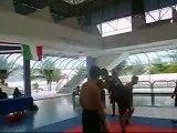Demonstração de Muay Boran Academia Steff Boxe Thai Brasil
