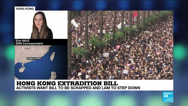 Hong Kong extradition bill protest analysis by correspondent Erin Hale