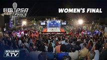 Squash: El Welily v Serme - CIB PSA World Tour Finals 2018/19 - Final Roundup