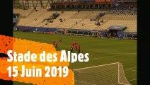 Coupe du Monde Féminine Match Canada NZ 15 Juin 2019 Stade des Alpes