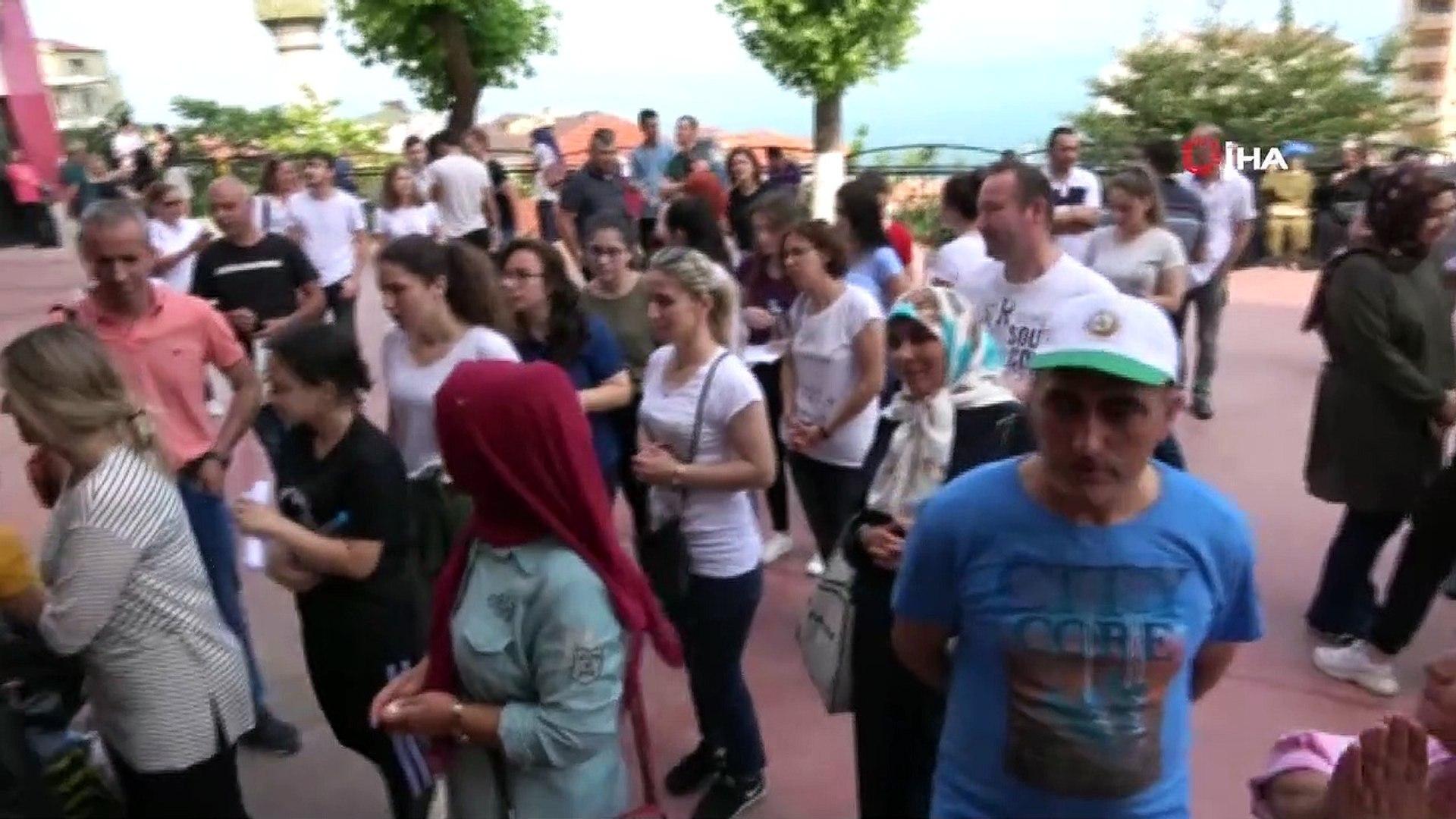 Zonguldak'ta Alan Yeterlilik Testi  başladı