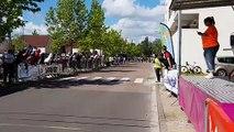 Route de Saône-et-Loire: l'arrivée à Saint-Rémy