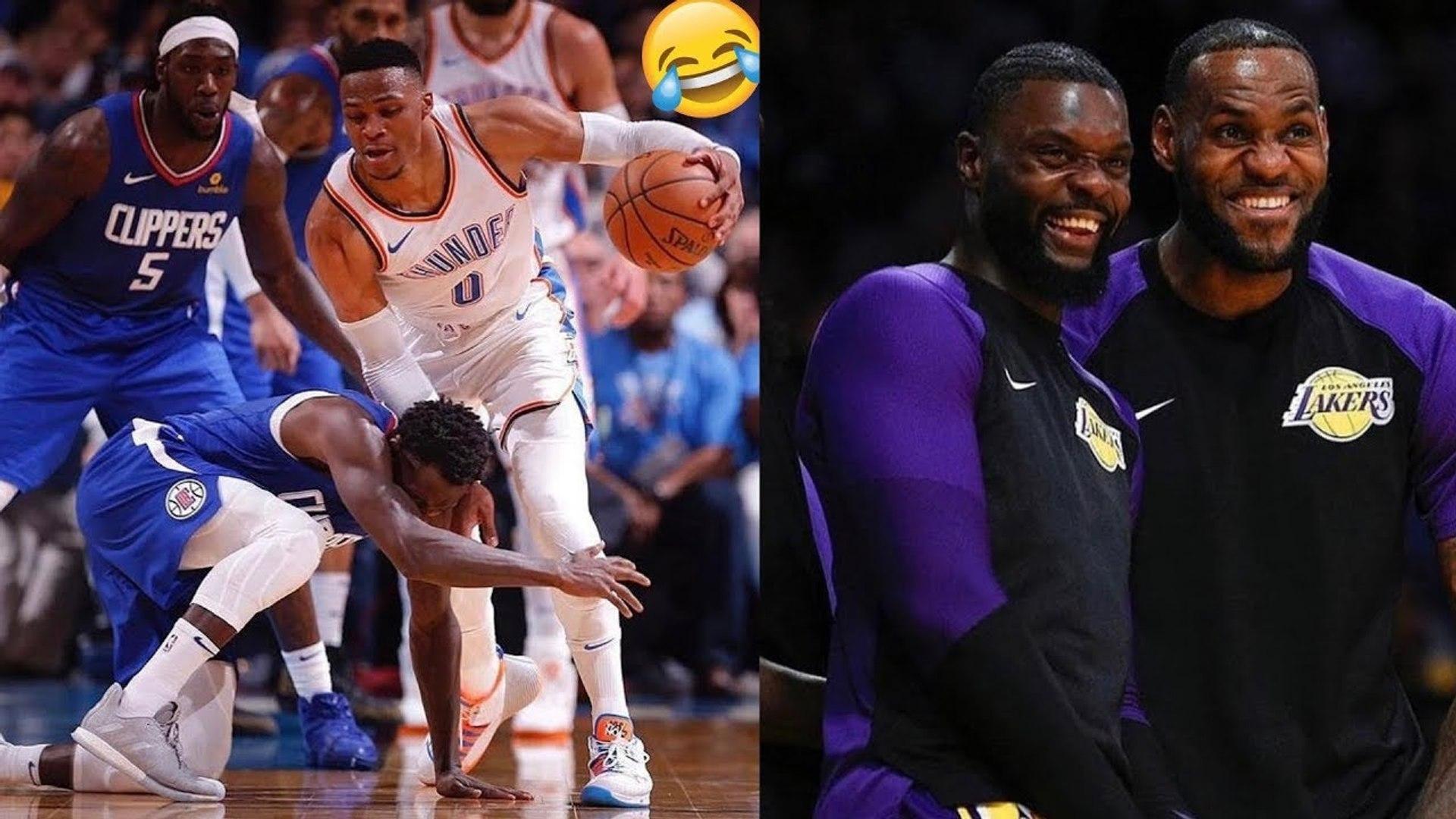 BEST FUNNY NBA BLOOPERS 2018/2019-