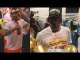 Kawhi Leonard Dances - Forgets His MVP Trophy After Game 6-