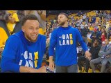 Warriors Honor Kevin Durant After Injury With Durant Oakland Shirts Before Game 6-