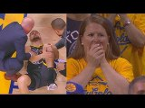 Klay Thompson Injury Then Returns To Standing Ovation In Game 6-