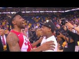 Kawhi Leonard Emotional Moment With Raptors After 2019 NBA Finals In Game 6-
