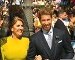 Real - Du beau monde pour le mariage de Sergio Ramos