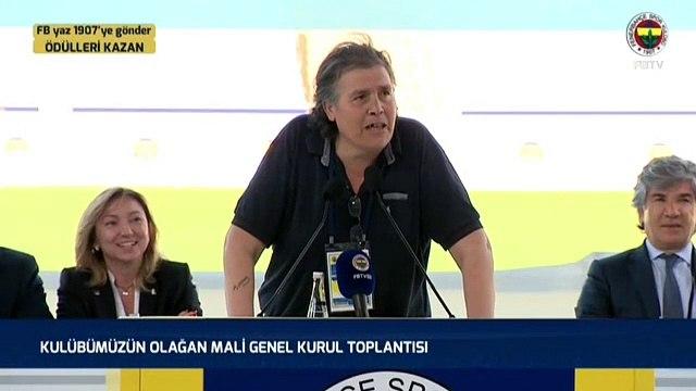 Fenerbahçe Genel Kurulu'nda Ekrem İmamoğlu sesleri