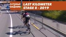 Last Kilometer / Dernier kilomètre - Étape 8 / Stage 8 - Critérium du Dauphiné 2019