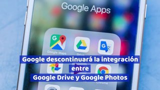 Google descontinuará la integración entre Google Drive y Google Photos