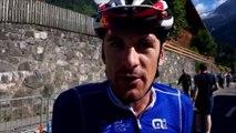 La dernière journée d'Anthony Roux (Groupama-FDJ) en course avec le maillot de champion de France sur le Critérium du Dauphiné 2019