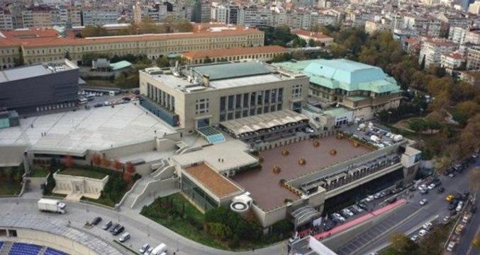 İmamoğlu ve Yıldırm'ın ortak yayın yapacağı Lütfi Kırdar çevresinde yoğun güvenlik önlemi alındı