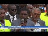 RTG/Lancement de l'opération d'identification des commerçants de l'ensemble des marchés de la capitale gabonaise présidé par le 4ème adjoint au maire de la commune de Libreville