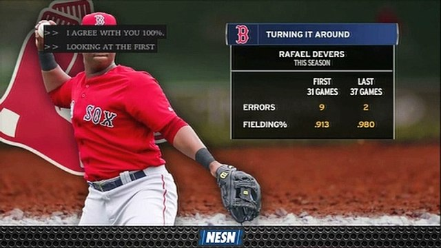 How Red Sox's Rafael Devers Has Transformed Himself Into Good Third Baseman