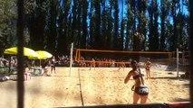 Un public nombreux pour la première édition de l'Avignon Beach open