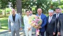- Bakan Çavuşoğlu: 'ABD'nin dayatmalarına kabul etmiyoruz'- Dışişleri Bakanı Mevlüt Çavuşoğlu, Dışişleri Bakanlığı Hatay Temsilciliğinin açılışına katıldı- Çavuşoğlu: 'Rejimin saldırılarını tolere edemeyiz, herkes haddini bilsin'