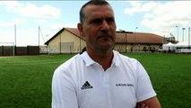 Finale Coupe du Rhône U15 - Jacques SANCHEZ réagit après la défaite de l'US MEYZIEU conte le FC LYON C