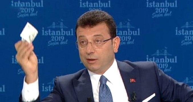 İmamoğlu cebinden 20 lira çıkararak YSK'nın kararını sorguladı: Buna hiç kimse inanmaz