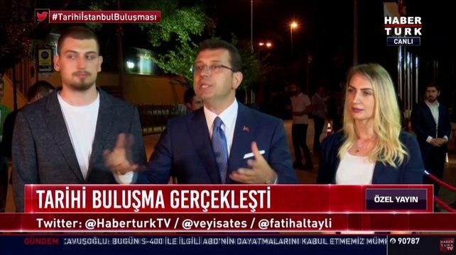 İmamoğlu tarihi yayından sonra çıkışta açıklamada bulundu