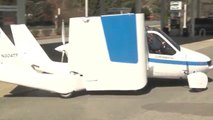 AWESOME, STREET LEGAL AIRPLANE CAR - Now That's Convenient!