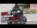 YAMAHA XSR 700 XTRIBUTE - Essai Moto Magazine