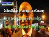 """Cellou Dalein à l'aéroport de Conakry : """"je ne me bats pas pour des avantages..."""""""