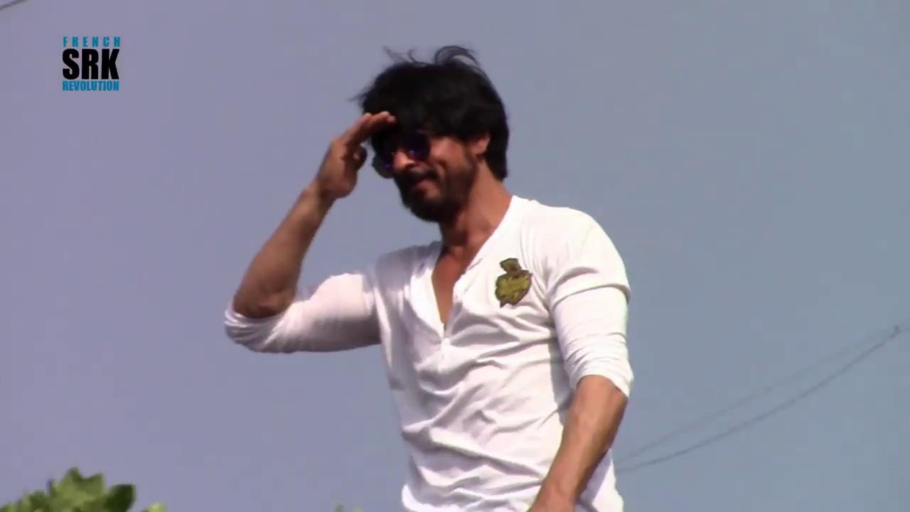 Shah Rukh Khan Birthday Anniversary Mannat