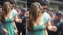 Tiger Shroff turns Disha Patani's protective boyfriend; Check out here   FilmiBeat