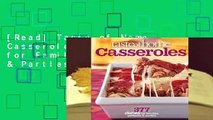 [Read] Taste of Home Casseroles: 377 Dishes for Families, Potlucks & Parties  For Trial