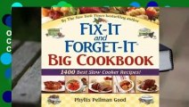 """Online Fix-It and Forget-It Big Cookbook: 1400 Best Slow Cooker Recipes! Plus """"Special Holiday"""