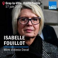 Reconstitution du meurtre d'Alexia Daval, en présence de la mère de la victime.