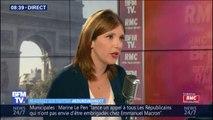 """Aurore Bergé: """"Avec nous au pouvoir, il n'y aura jamais de quota sur le droit d'asile"""""""