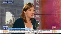 Aurore Bergé n'est pas favorable aux quotas pour l'immigration familiale